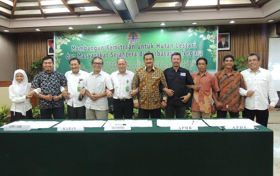 Penandatanganan Perjanjian Kerjasama PRCF Indonesia dan Balai Besar TNBKDS