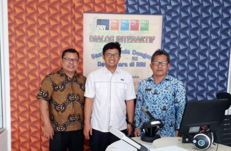 Sosialisasi Program PRCF Indonesia di RRI Pontianak