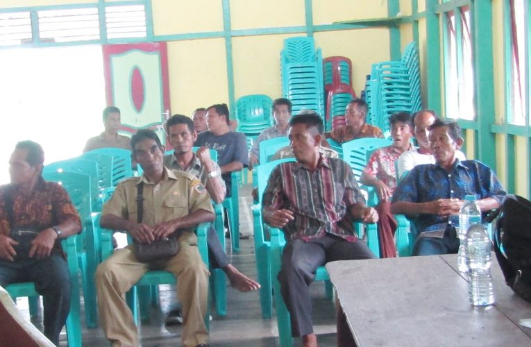 Diusulkan Anggaran Patroli Hutan Masuk Anggaran Desa