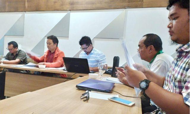 Peserta Konsolidasi Koalisi Masyarakat Sipil Kalimantan Barat di Hotel Golden Tulip Pontianak, 27 Januari 2020