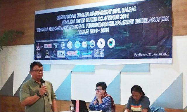 Konsolidasi Koalisi Masyarakat Sipil Kalimantan Barat