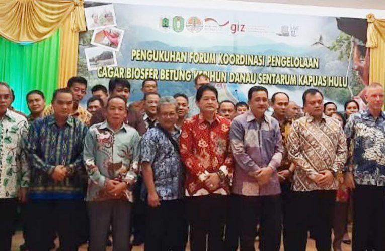 PRCF Masuk Forum Komunikasi Koordinasi Pengelolaan Cagar Biosfer Betung Karihun Danau Sentarum