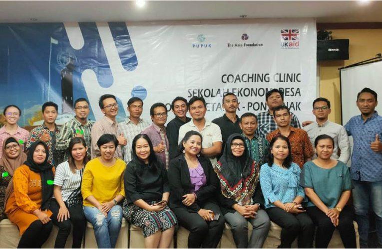 PRCF Indonesia Kirim Tiga Personel Ikuti Coaching Clinic Sekolah Ekonomi Desa