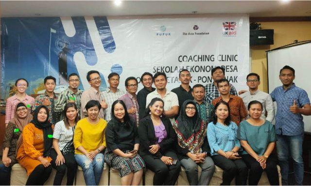 coaching clinic sekolah desa