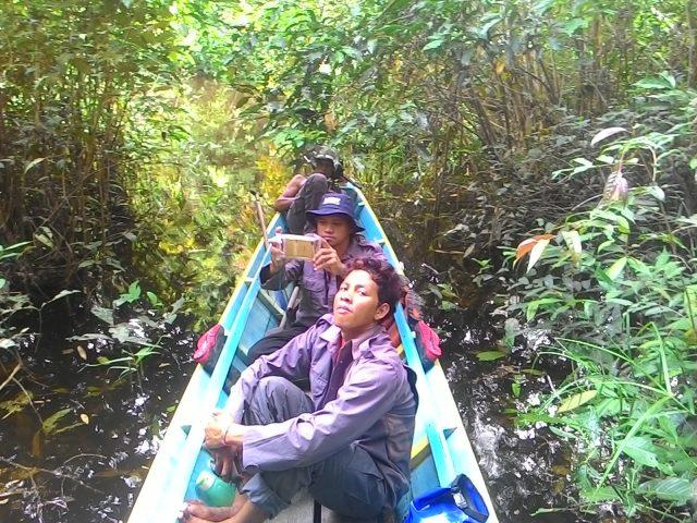 Tim patroli hutan desa LPHD Lauk Bersatu