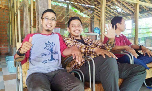 Azri Achmad di sela- sela mengikuti pelatihan SLA di Wagi Malang