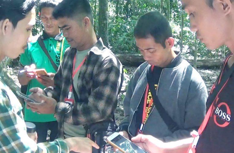 Pelatihan Smart Patrol di Hutan Kota Arboretum Untan