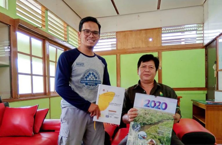Dukungan KPH Kapuas Hulu Utara untuk PRCF Indonesia