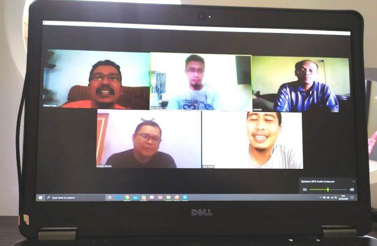 Rapat Kerja PRCF Indonesia Secara Online