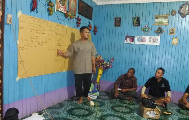 Penguatan kapasitas lembaga LPHD yang dilakukan PRCF