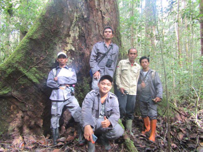 Program konservasi berupa potroli hutan menjadi andalan program kerja PRCF Indonesia