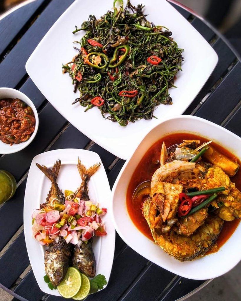 Salah satu jenis hidangan hasil dari kreasi masak chef yang akan menjadi juri dalam Festival Makanan Tradisional di Nanga Lauk