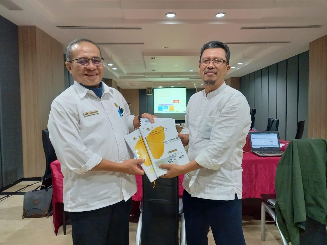 Koordinasi erat diperlihatkan PRCF Indonesia dengan Dinas LHK Kalbar