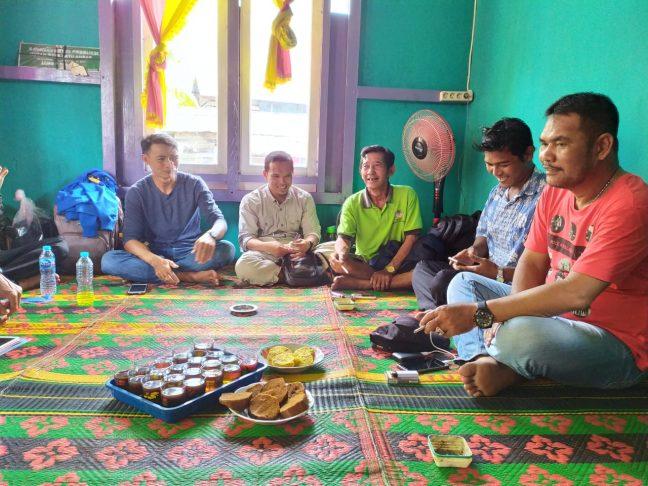 Belajar pengelolaan hutan desa dilakukan LPHD Lauk Bersatu ke Batu Ampar Kubu Raya