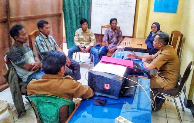 Silaturahmi antara LPHD Lauk Bersatu dengan KPH Kapuas Hulu Utara