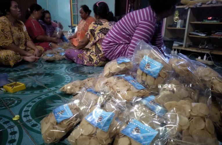 KUPS Ikan Nanga Lauk Mulai Produk Kerupuk