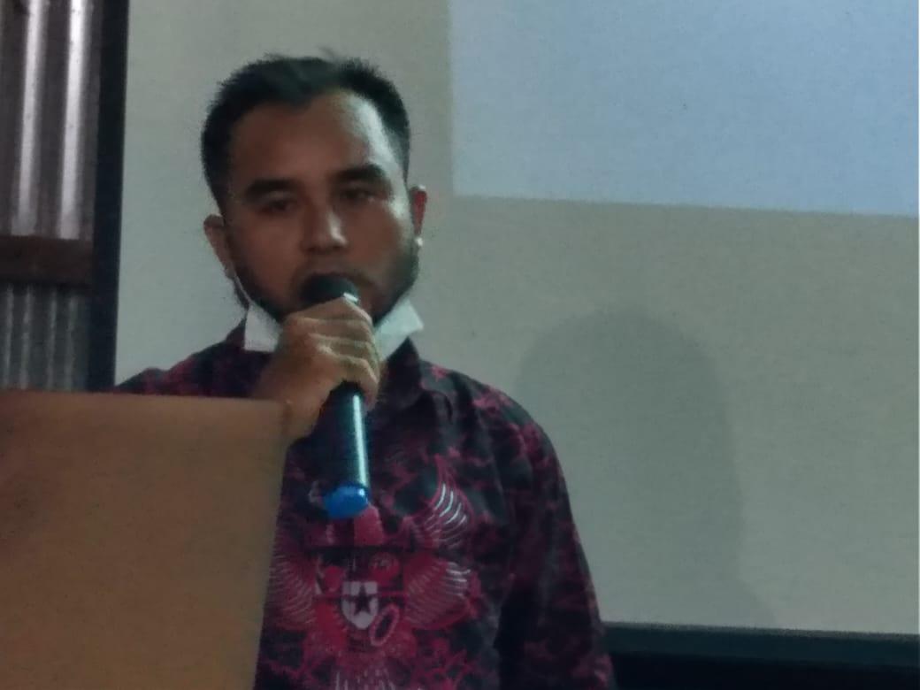 Kepala Desa Nanga Jemah Mahrus Effendi