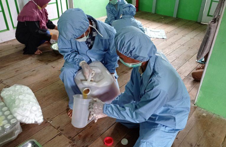 Desa Nanga Lauk Mulai Produksi Madu dengan Botol Berstandar SNI