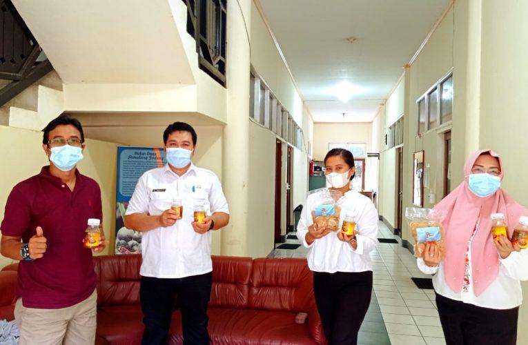 Promosi Produk Pangan KUPS Desa Nanga Lauk