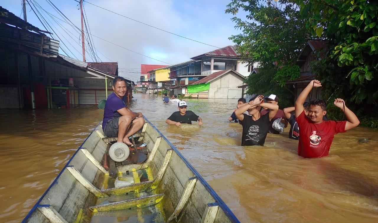 Banjir di kota putussibau
