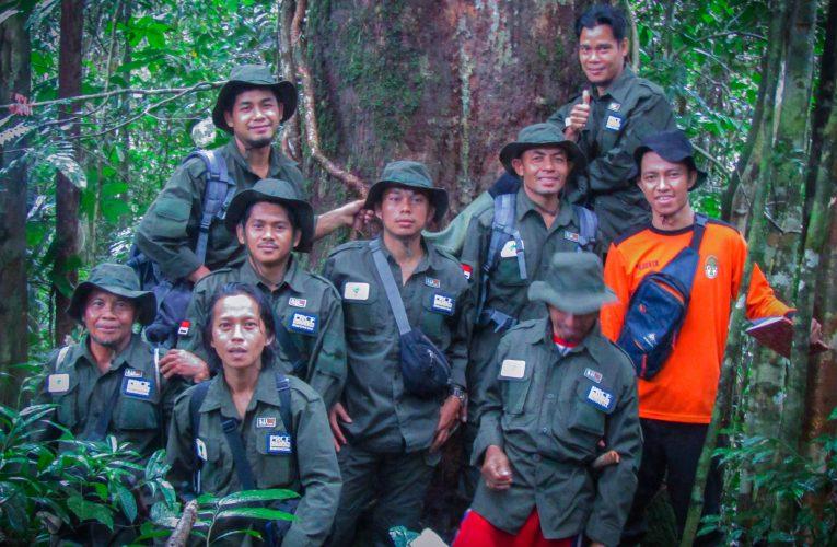 Baju Seragam Patroli Hutan untuk Nanga Betung