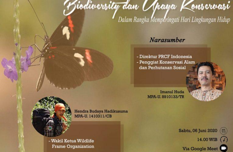 Hari Lingkungan Hidup,  PRCF Pembicara Utama